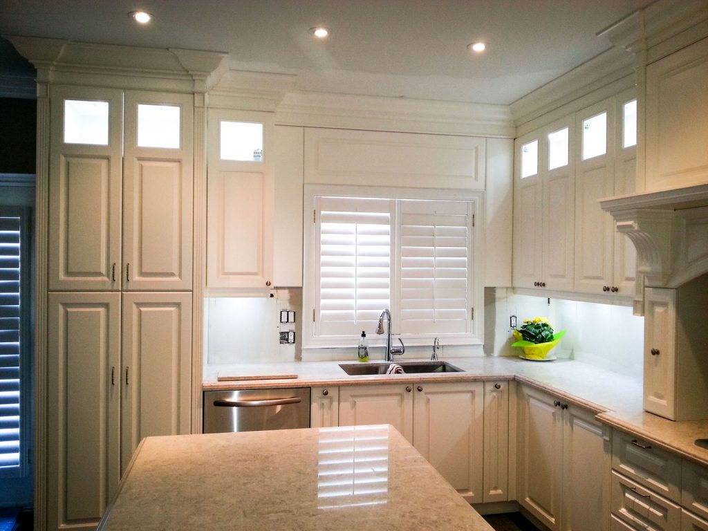 kitchen cabinets and interior built by clearview kitchens