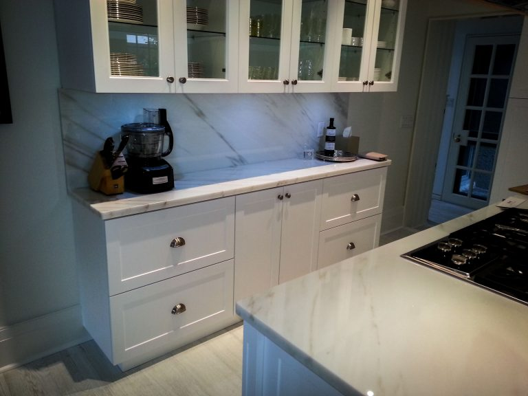 kitchen replacement project completed - luxury kitchen design