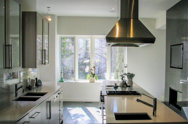 modern kitchen interior decor