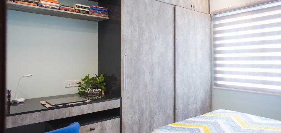 closet with sliding door
