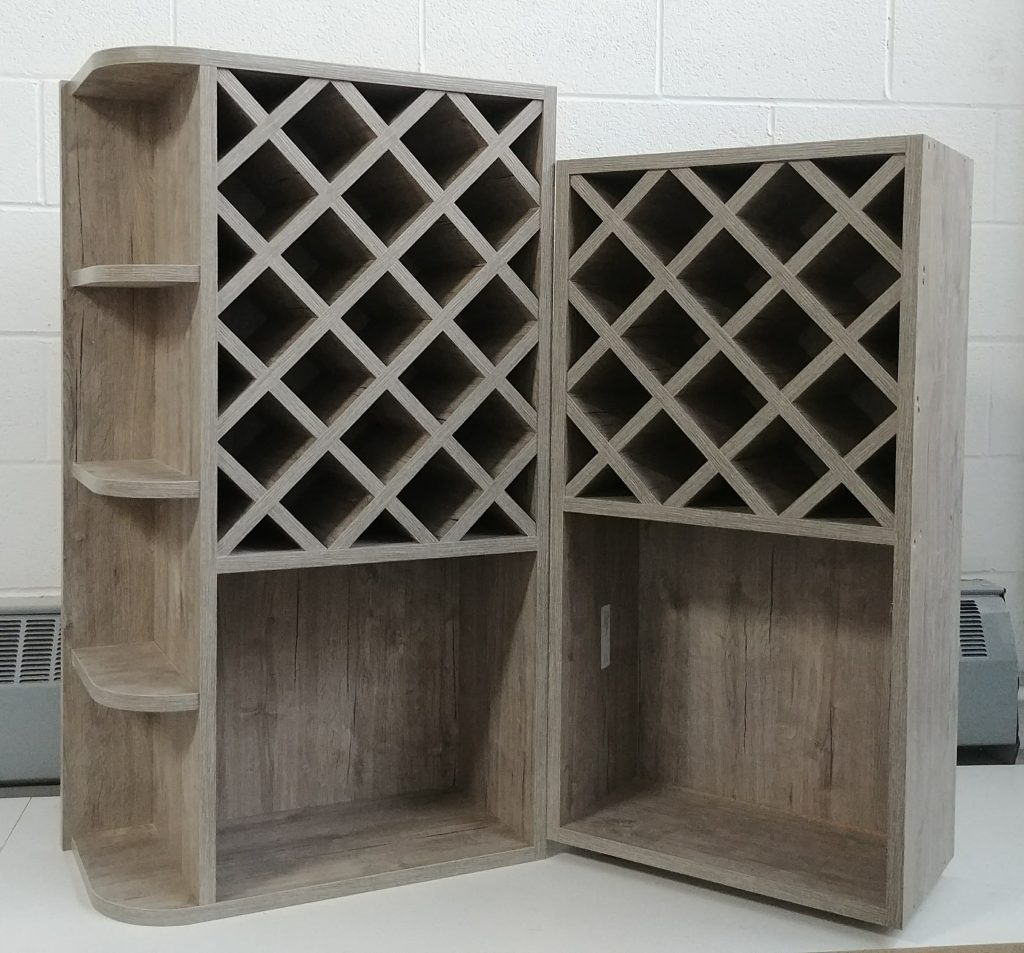 custom wine storage cabinets - cabinets for a bar