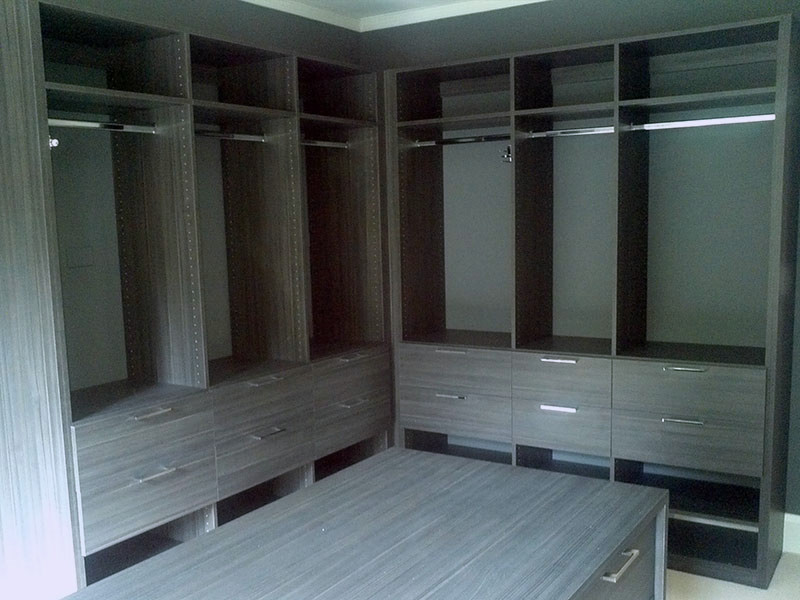 large wardrobe custom closets and drawers - closets manufacturing markham