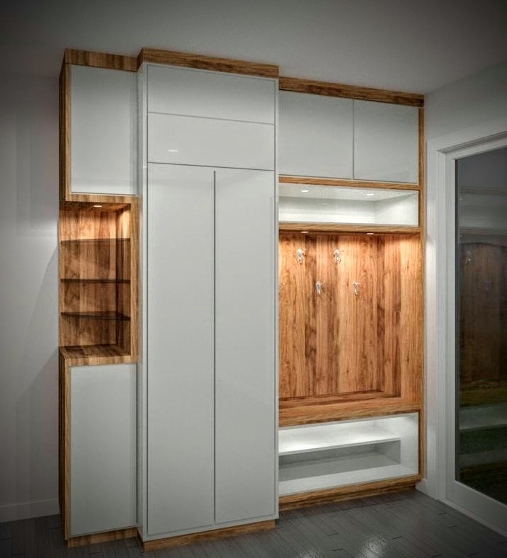 back lit shelves in modern storage unit - cabinets for storage stouffville
