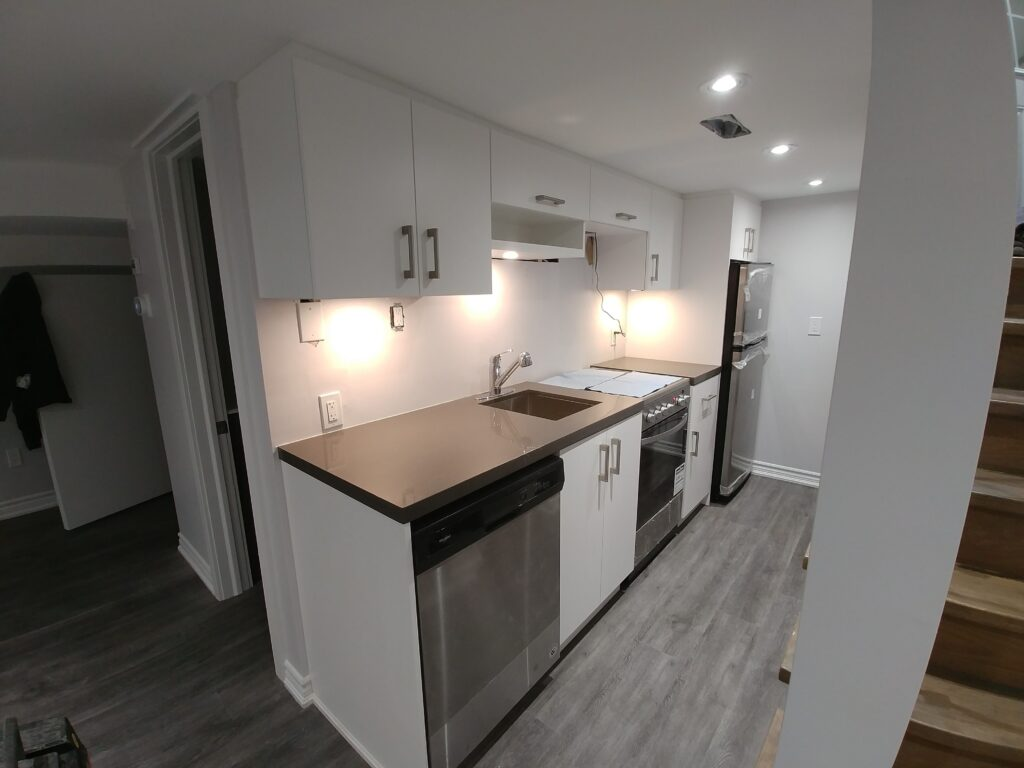 small basement kitchen cabinetry - cabinets designer toronto