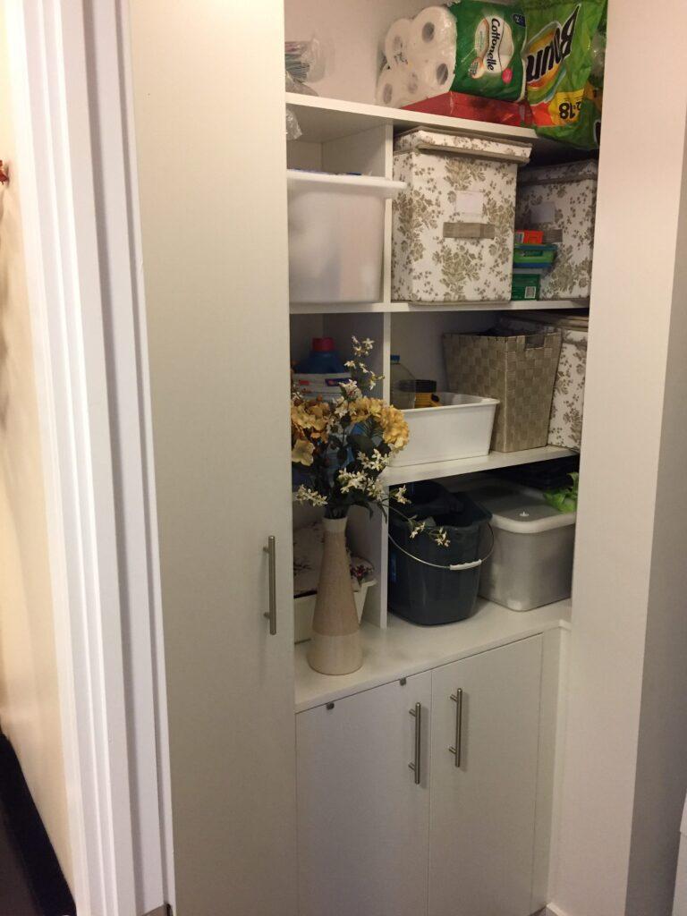 hidden storage unit - cabinets designer