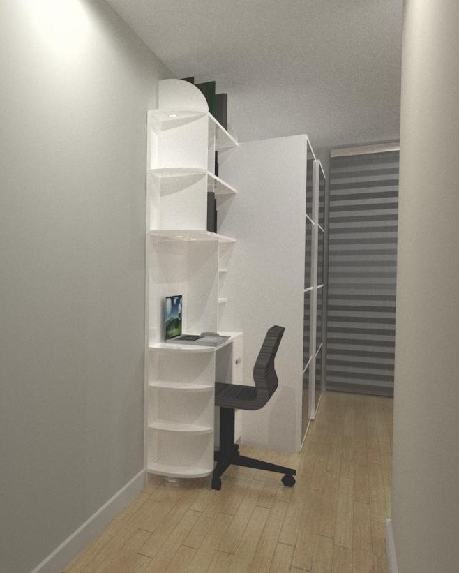 custom small workspace unit - custom shelving units newmarket