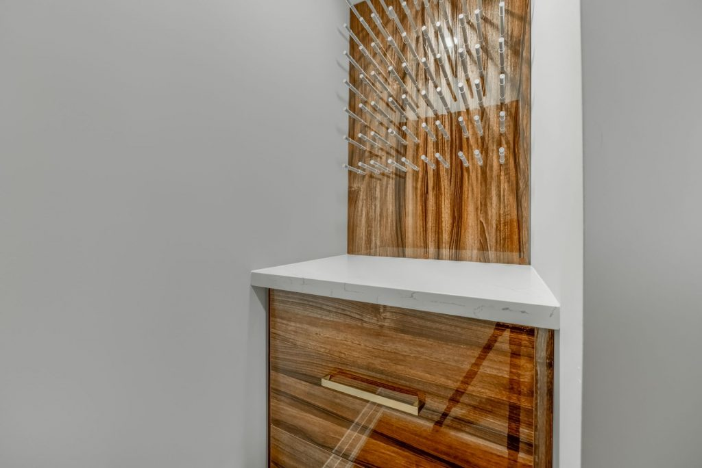 luxury high gloss storage unit - wall units