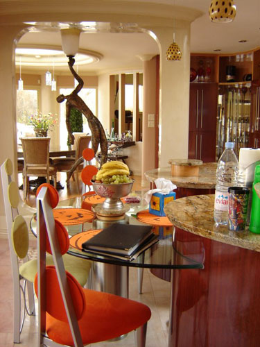 small display glass bar by clearview kitchen brampton
