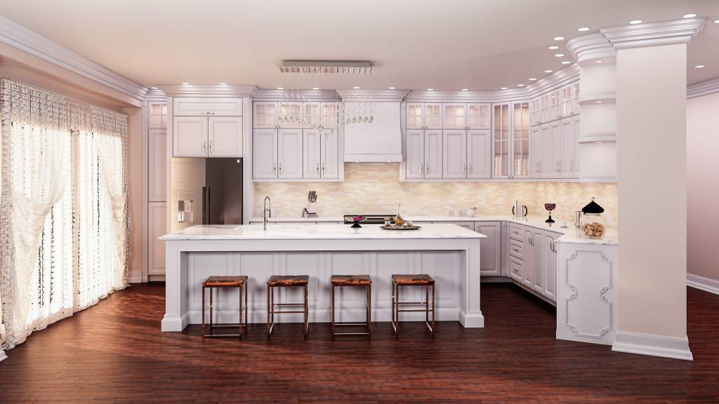classic kitchen design with custom cabinets by clearview kitchens