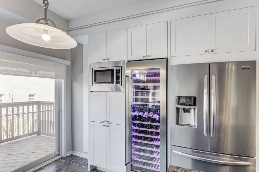 luxury kitchen cabinets with build in appliances - custom kitchen design