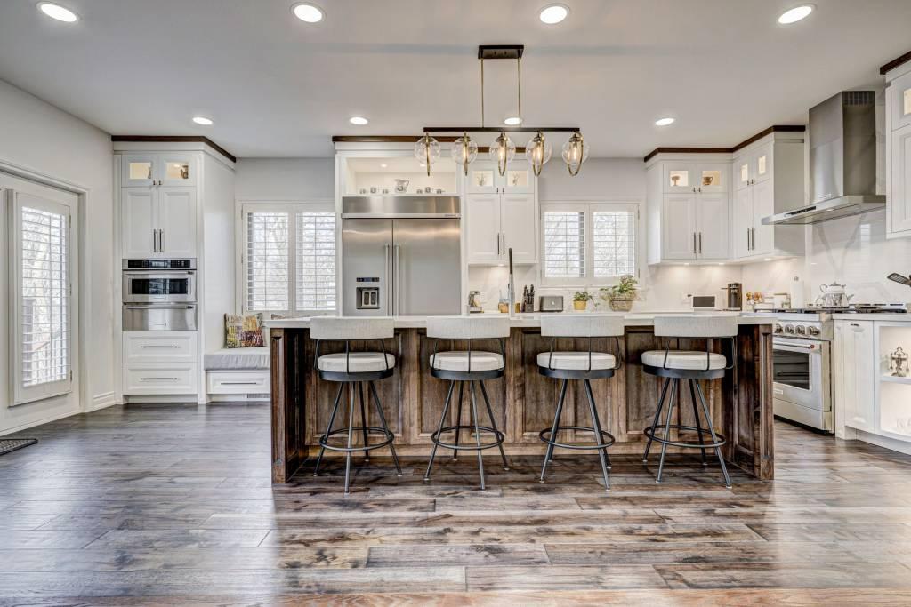 custom kitchen with amazing white kitchen cabinets - kitchen cabinets toronto