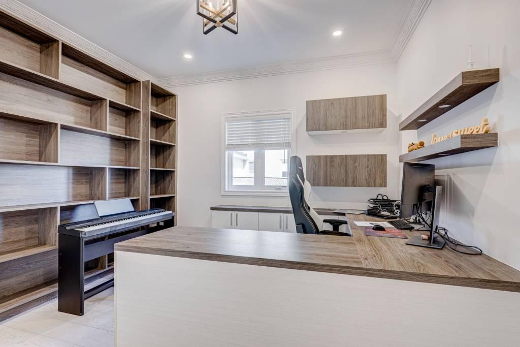 amazing home office - Custom Wall Units