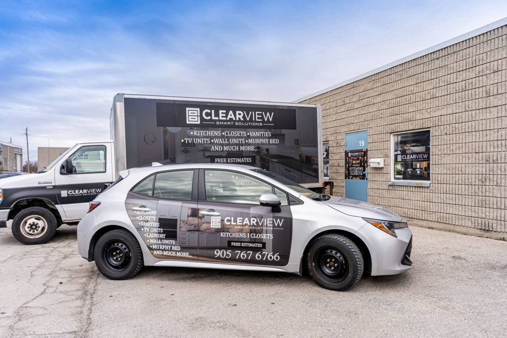 our vehicles - clearview kitchens toronto
