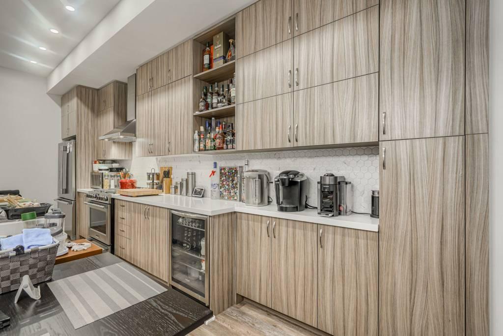 custom kitchen with wooden kitchen cabinets- kitchen refacing