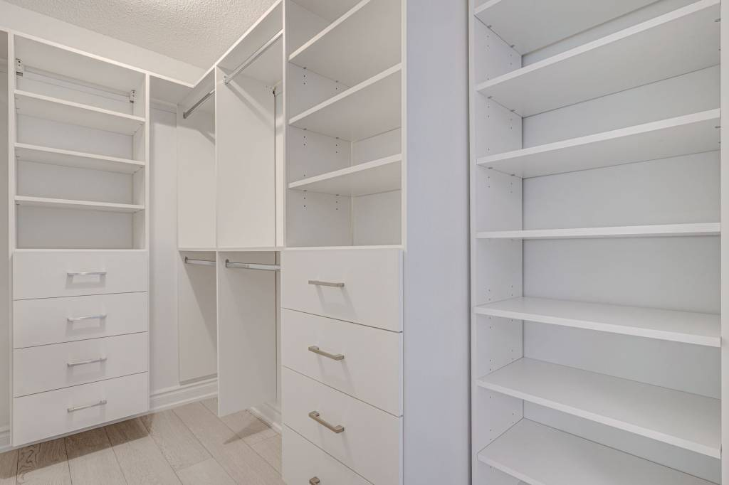 amazing walk in closet by clearview kitchens