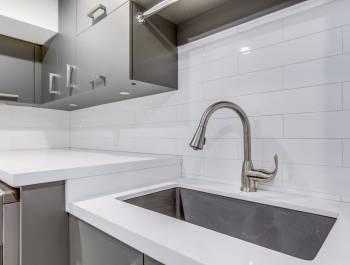 Luxury Backlit Kitchen Cabinets Design Barrie