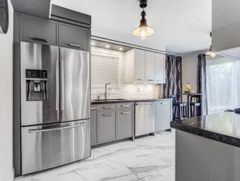 Kitchen Renovation Project by Clearview Kitchens Toronto