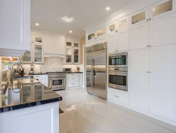 Modern Kitchen Refacing Project Vaughan