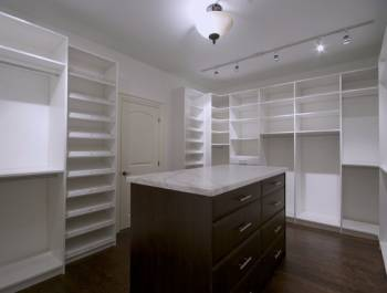 Custom Walk in Closet by Clearview Kitchens Vaughan