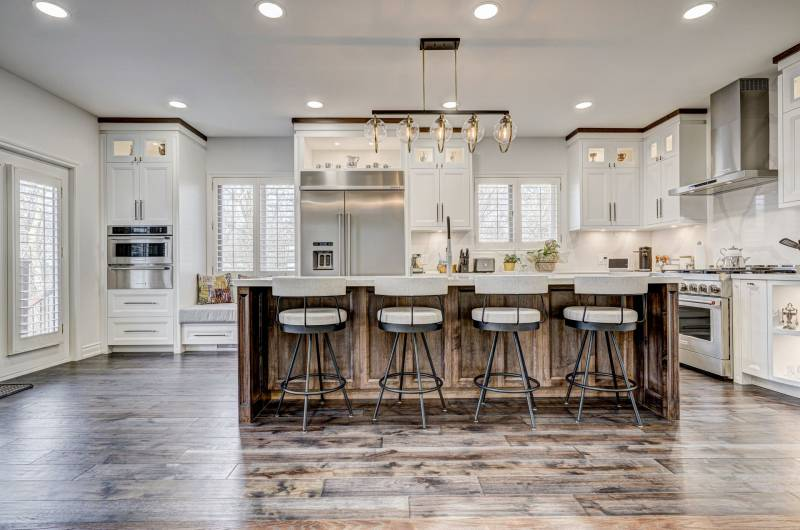 Amazing Kitchen Design and Build by Clearview Kitchens