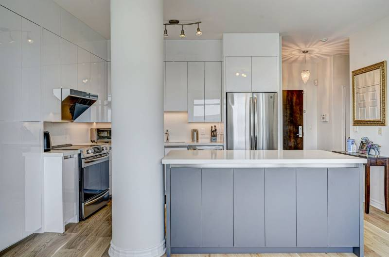 Kitchen renovation project by clearview kitchens