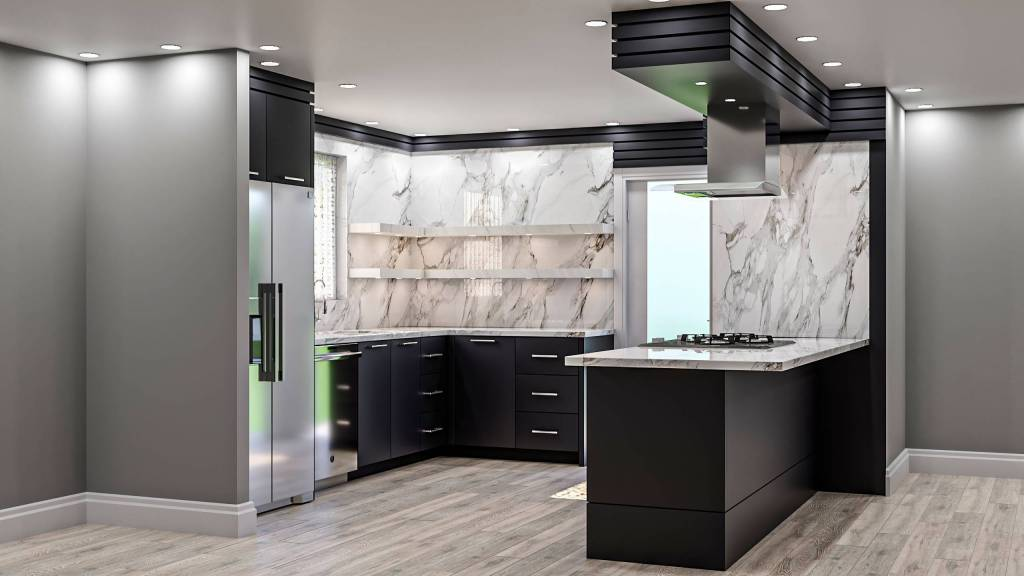 Amazing 3D Kitchen Render by Clearview Kitchens