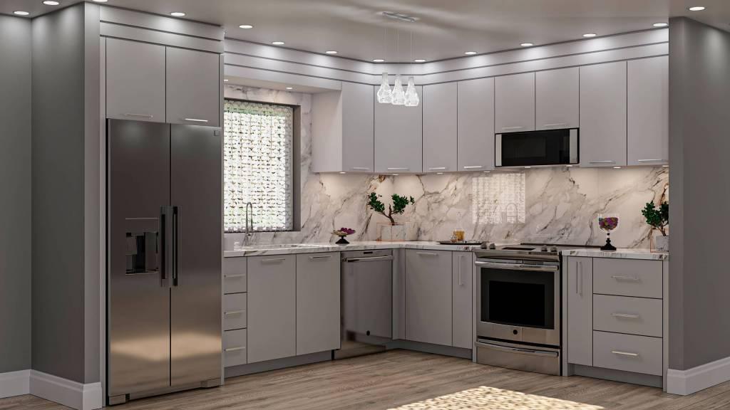 Custom Kitchen Rendering