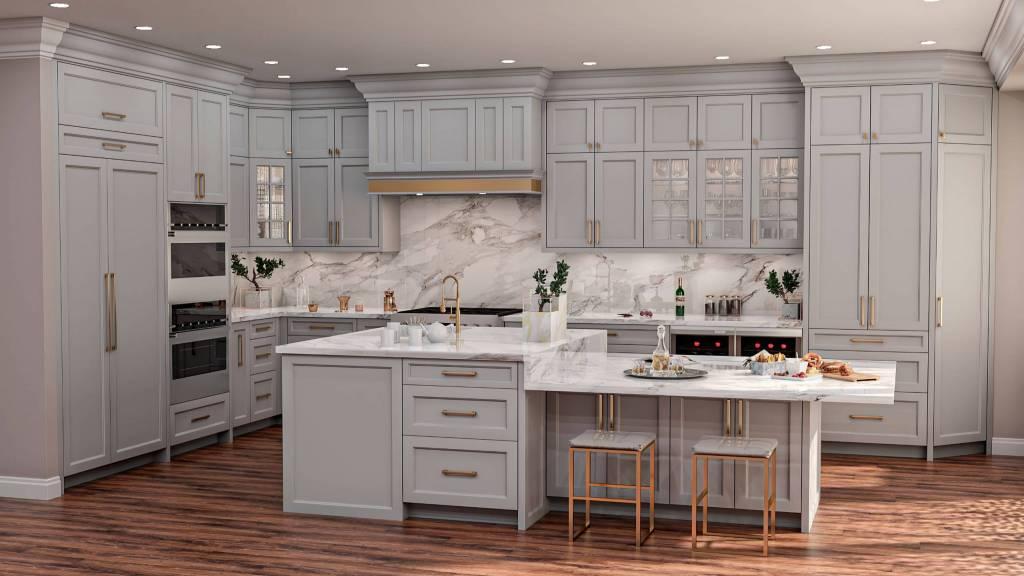 Amazing Kitchen 3D Render
