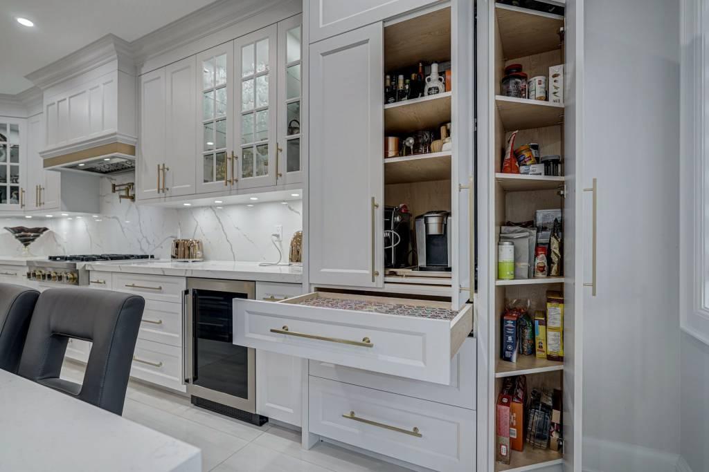 Custom Kitchen Cabinets Storage