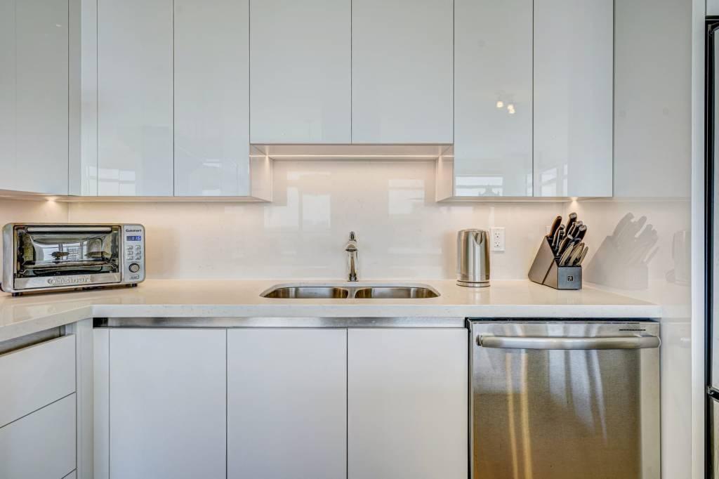 Amazing Kitchen with Backlit Kitchen Cabinets
